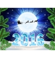 2016 christmas background vector image vector image