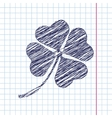 clover icon Eps10 vector image vector image
