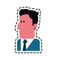 man cartoon icon vector image vector image