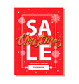 sale christmas shop now on vector image