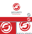 Security Corporation Business S Logo Concept vector image vector image