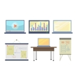 Set of Tools for Seminar and Lecture vector image vector image