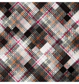 Abstract plaid background vector image
