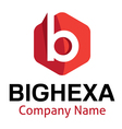 Big Hexa Logo vector image vector image