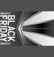 black friday background with arrows vector image vector image