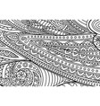 coloring book page with black and white line art vector image vector image