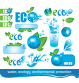 Ecology and the Environment vector image vector image