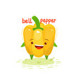 healthy food bell pepper vector image vector image