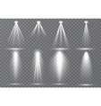 large set scene illumination vector image vector image