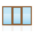 plastic window 09 vector image vector image