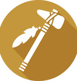 Tomahawk Icon vector image vector image