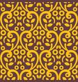 vintage arabic seamless pattern vector image vector image