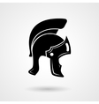 Ancient legionnaire helmet icon logo vector image