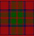clan grant scottish tartan plaid vector image vector image