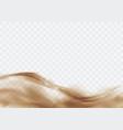 desert sandstorm brown dusty cloud on transparent vector image vector image