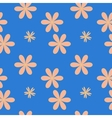 Flower pastel seamless pattern vector image