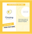 fry egg company brochure template busienss vector image