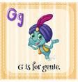 Genie vector image vector image