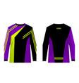 sportswear sublimation print vector image