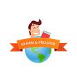 Education Badge vector image