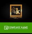 03 oak letter k