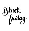 black friday - handdrawn sale vector image