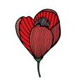 flower 209 17 vector image