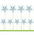 flowers for design vector image vector image