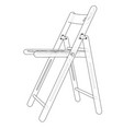 Folding chair sketch