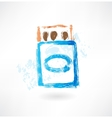 matchbox grunge icon vector image vector image