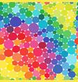 rainbow circles seamless pattern vitamin vector image vector image