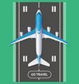 realistic 3d detailed travel and tourism concept vector image vector image