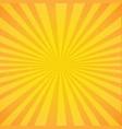 Vintage sunburst poster
