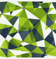 green triangle seamless pattern vector image vector image