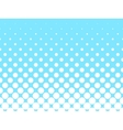 Halftone background of grey dots vector image vector image