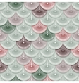 Seamless pastel river fish scales vector image vector image