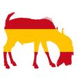 Spanish he-goat vector image vector image