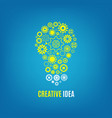 innovation creative idea concept with vector image