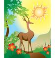 Fairytale Deer vector image vector image