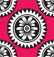 floral seamless pattern for design vector image vector image