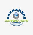 plumber design vector image vector image