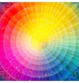 Background abstract rainbow vector image vector image