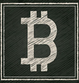 Bitcoin design vector image