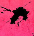 Bright Pink Paint Splash Background vector image vector image