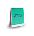 calendar 2022 - blank desk 3d mock up