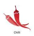 Chili pepper icon vector image
