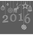 Christmas decoration Polygon vector image