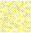 geometrical pentagram pattern background - graphic vector image vector image