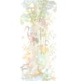 in oriental watercolor style vector image vector image