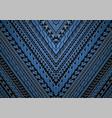 maori and samoa style ornament vector image